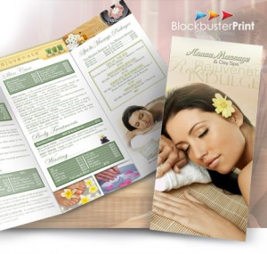 trifold brochure printing online