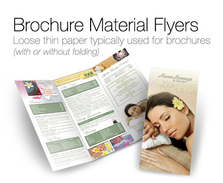 Postcard Flyers Printing Folder Flyer Brochure