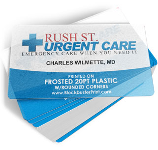 Plastic business cards clear frosted or white 20pt plastic printing clear plastic business cards frosted business cards reheart Choice Image