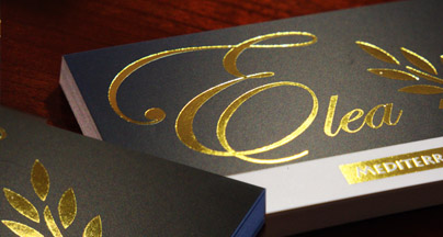 gold foil stamped business cards printing