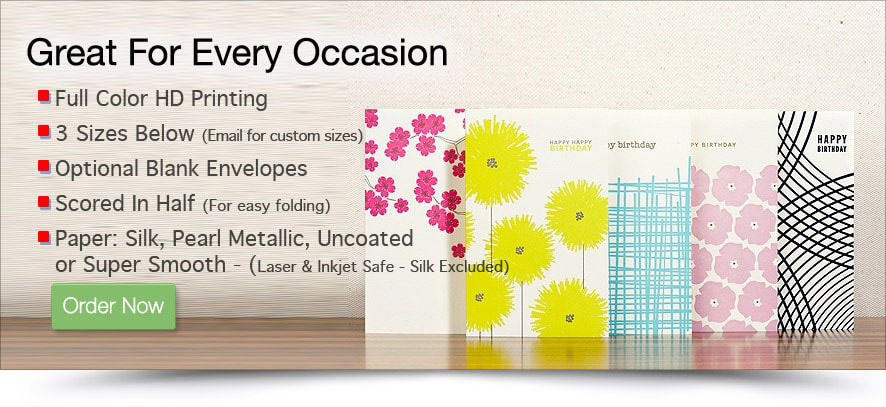 Order custom printed greeting cards online full color greeting custom printed greeting cards m4hsunfo