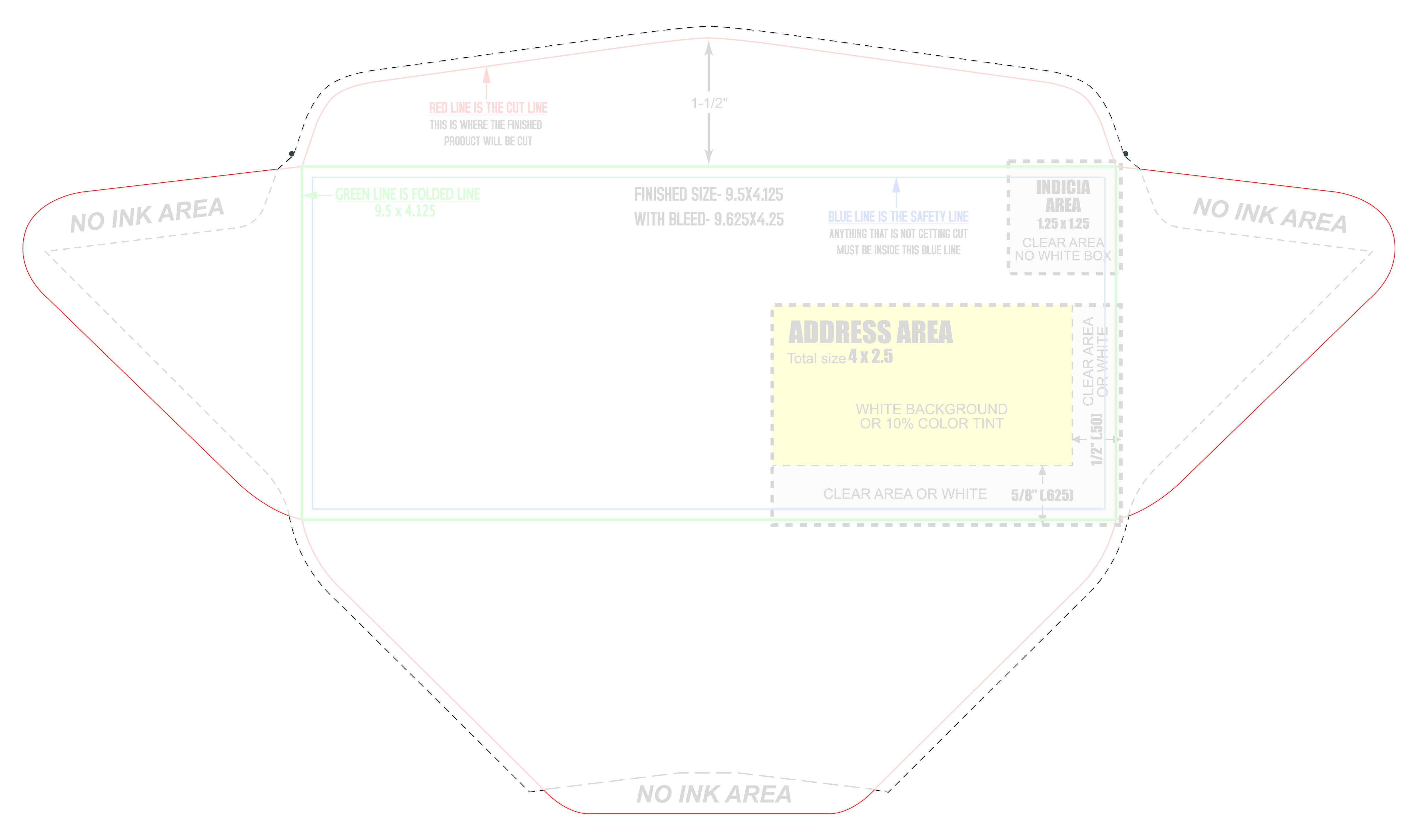 Direct Mailing Envelope Template